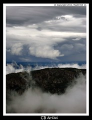 Cumulonimbus Arcus (MarkhOZ) Tags: espaa storm spain hurricane galicia tormenta tornado ourense arcus caonesdelsil flickrestrellas cumulonimbusarcus