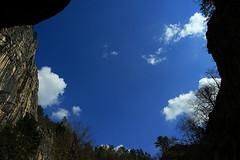 sky | kocjan (arnabchat) Tags: blue sky clouds spring europe slovenia cave karst grotte grotta carso kocjan kocjancaves