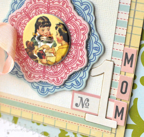 No. 1 Mom {Card-Detail}