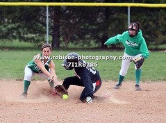 7I1R8286 (warren.robison) Tags: girls sports girl sport ball out photography action central first indiana christian highschool varsity softball bethesda pitcher triton basemen filder fairland ihsaa