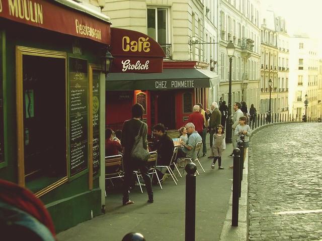 Montmartre un sábado a la tarde...