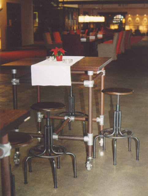 Furniture Made With Kee Klamp Pipe Fittings Image