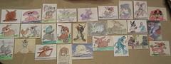 4.23.11 - Bunny Art Cards!