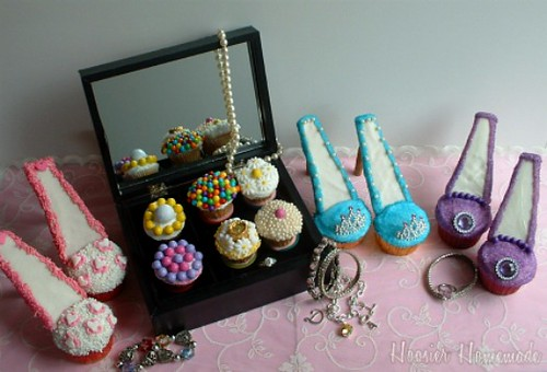 Stiletto Shoes Cupcakes