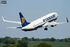 EI-DHE - 33574 - Ryanair - Boeing 737-8AS - Luton - 100603 - Steven Gray - IMG_3081