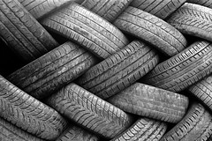 Used Tires [Explored] (Jean-Louis Piraux) Tags: bw tire nb tires hp5 recycling tyres tyre usedtire rokkor minoltaxd7 bnstilllife tribalsouk usedtyre gnrationsrurales pneusgatez
