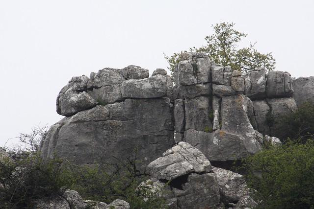 Torcal de Antequera, esculturas