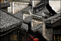 @ Fenghuang #4 (d.teil) Tags: china old city venice heritage water phoenix stone wall architecture river town wooden ancient asia unique unesco stadt land preserved viewing chine fenghuang hunan dteil