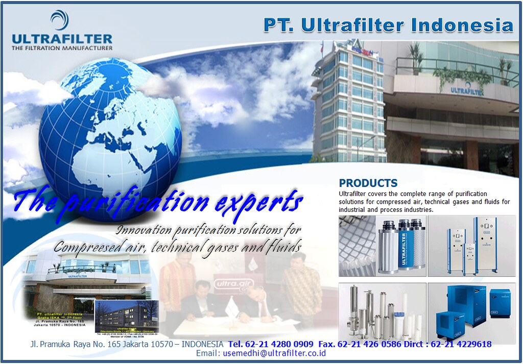 Company Profile of PT. Ultrafilter Indonesia
