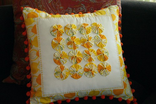 Lemon Drop Pillow