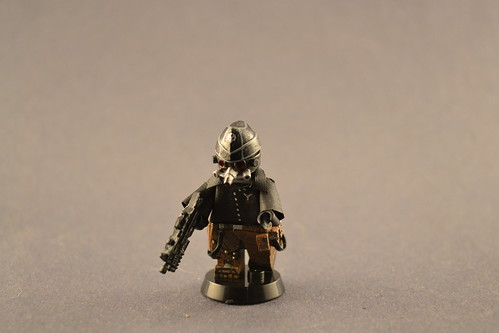 Custom minifig Killzone Helghast Soldier Class- Private