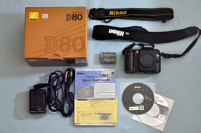 WTS Nikon D80