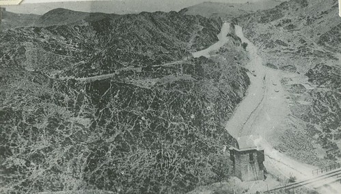 View Of The Khyber Pass From Shagai Fort.