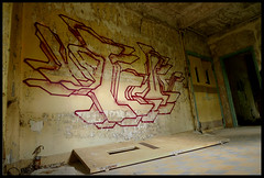 By UTIL (Thias (-)) Tags: terrain streetart wall painting graffiti mural spray urbanart painter normandie graff aerosol bombing spraycanart abandonned urbex vierge pgc thias util friche lostplace matire photograff desafected frenchgraff ambaince photograffcollectif tarc