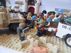 Peace Keeping Diorama (Soundwave_sw) Tags: army gun peace lego military un dio minifig custom hummer weapons keepers brickarms