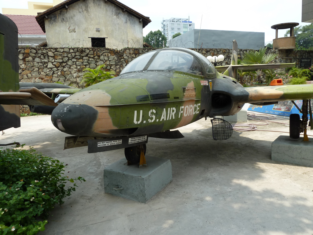US Air Force Plane at Vietnam War Museum