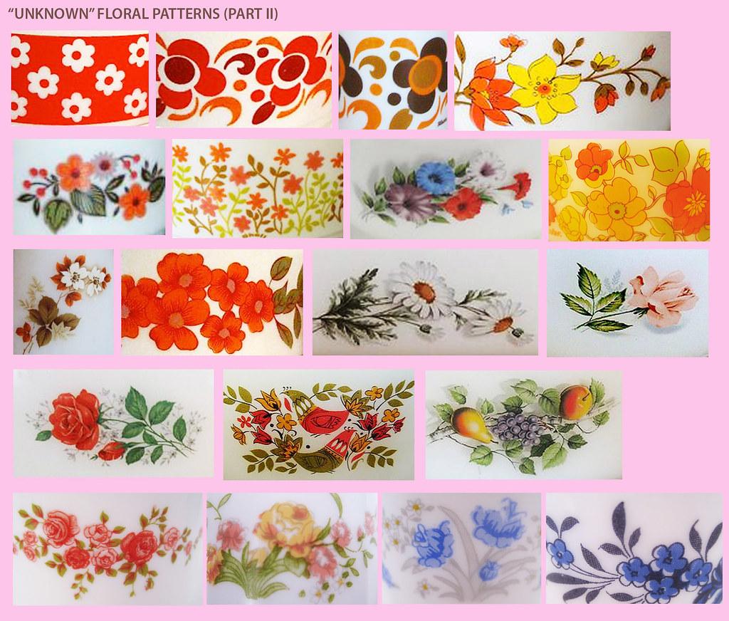 Arcopal Floral patterns (part II)
