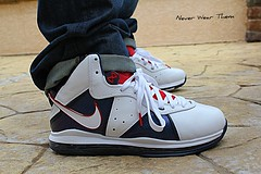 WDYWT 5-16-11 (Never Wear Them) Tags: blue red usa white max canon you air 8 nike wear american what did viii veteran today veterans lebron t2i
