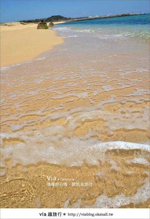 【澎湖沙灘】山水沙灘,遇到菊島的夢幻海灘!27