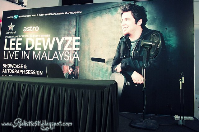 American Idol Lee DeWyze Live in KL, Malaysia