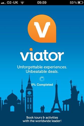 What is viator app