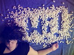 Day One Three Nine - I'm a dreamer (tulipnka) Tags: cloud white canon eos rebel kiss sleep think dream hi x4 550d t2i