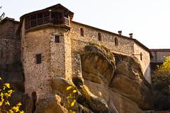 Monastery in Meteora (mike_faraway) Tags: mountains church nature greece monastery christianity orthodox meteora greeck