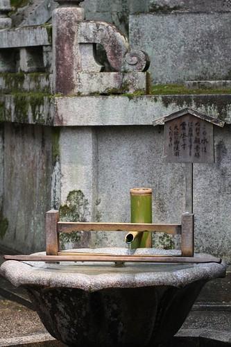 絶え間ない清水 / Kiyomizu-dera