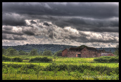 STORMY WEATHER (vicki127.) Tags: trees field grass barn fence cheshire canon300d sensational vicki soe hdr rainclouds wwh burrows digitalcameraclub sigma70300mm photomatics mottramstandrew flickraward elitephotography thisphotorocks ilovemypics may2011 artofimages hairygitselite heavenlycapture absolutelyperrrfect ringexcellence ringofexcellence vicki127