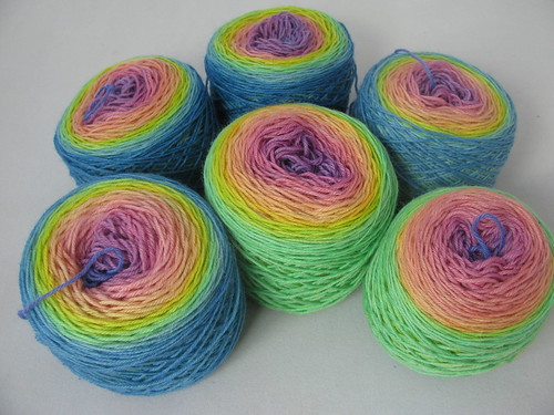 Happy-Rainbow-4-Ply-Sock-fu by funknitter