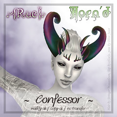{Rue} AD Horn'd Style Confessor