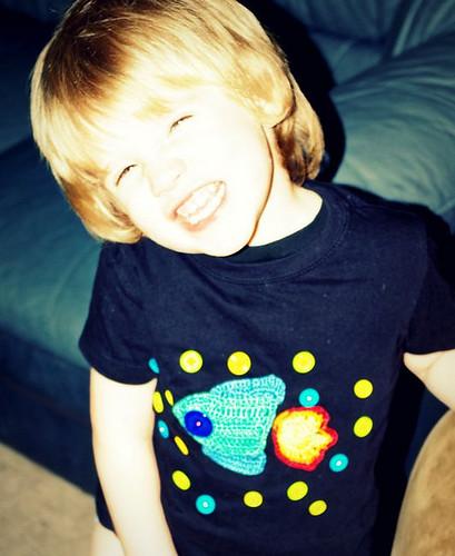 Odessa's Spaceman Shirt