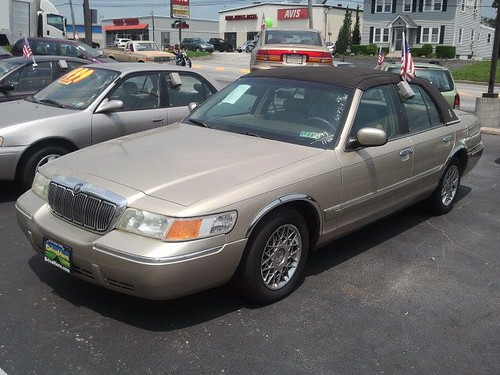 Only for memorial Day, you can get this beautiful Grand Marquis at Drivehere.com for only $0.00 Down