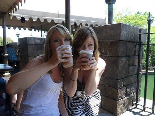 Chugging Butterbeer