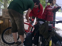 Bicycle Repair Man @ 1º Evento Cycle Chic Lisboa
