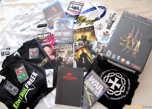 GamingBits.com E3 2011 Grab Bag of Swag Giveaway