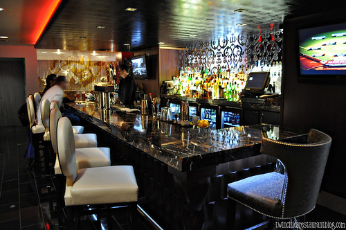 Bar at The Six15 Room at Grand Hotel ~ Minneapolis, MN