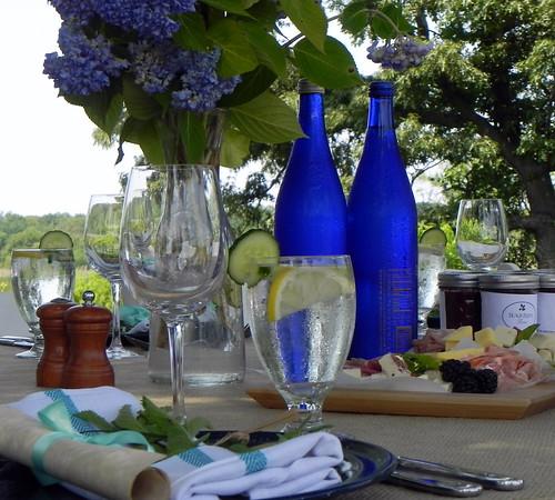 Table Setting at Beach Plum Farm