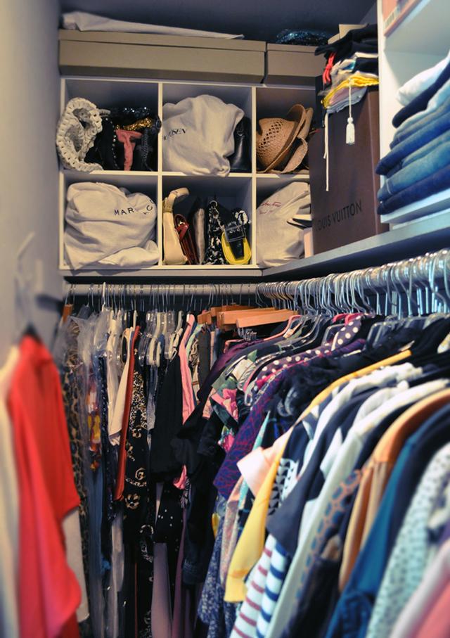 my closet - the bag side