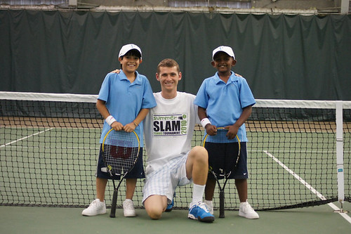 Summer Slam tournament participants, age 10 and 8