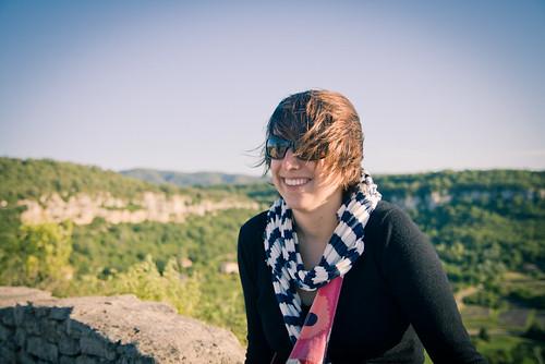Vanessa à Saignon