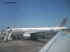 TUNISAIR_AIRLINES_  ( TheFourSeasonsPhotography&more.) Tags: travel vacation sky holiday beautiful plane fly moving airport amazing wings view tunisia flight explore striking discovery takeoff landed tunisair flyme