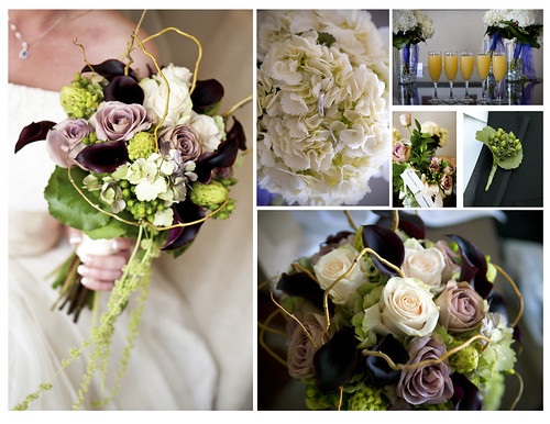 The Story Told of Cherie's Bouquet by Georgianne at Monday Morning Flowers