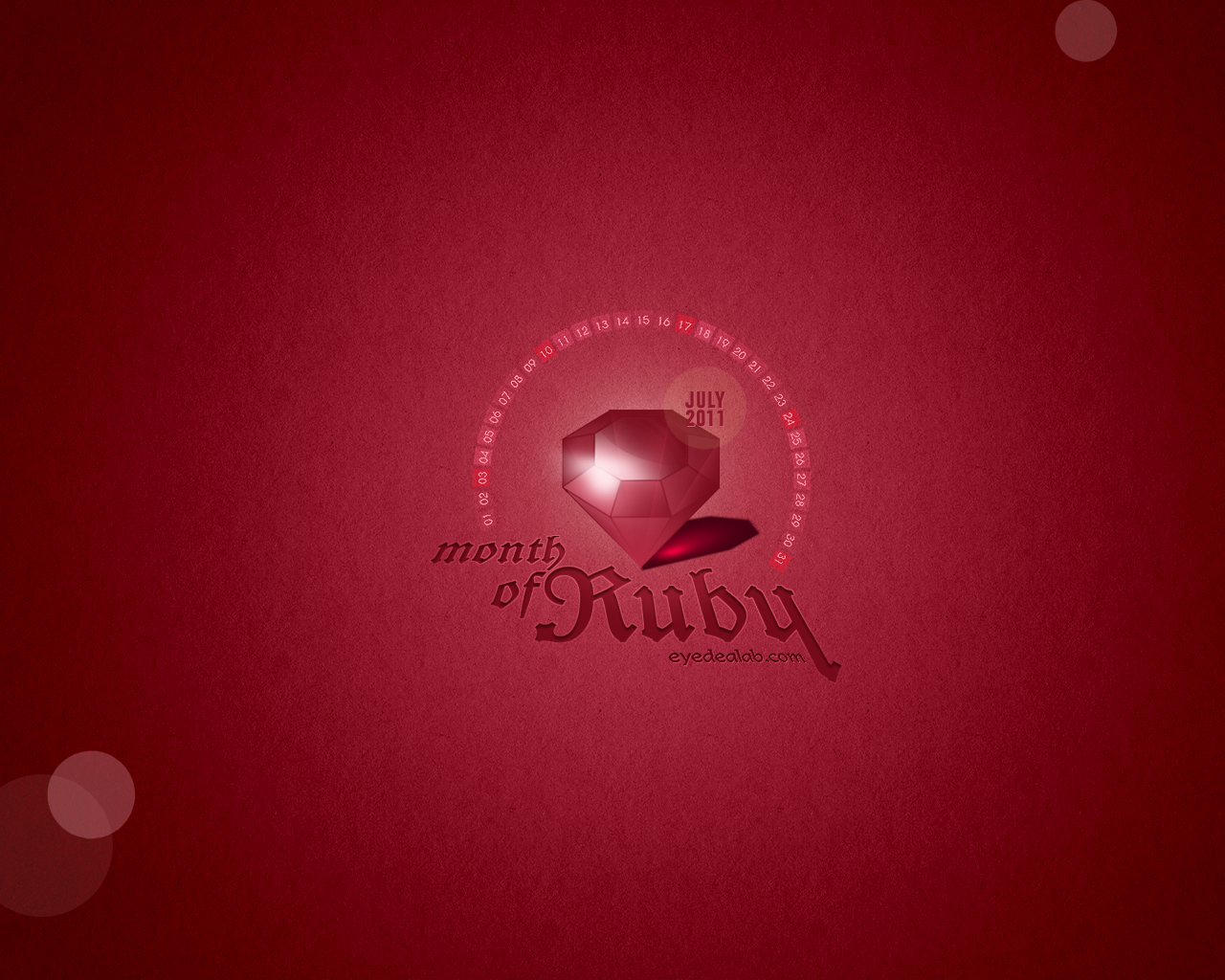 Month Of Ruby