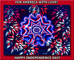 FOR AMERICA WITH LOVE! (fantartsy JJ *2013 year of LOVE!*) Tags: holiday america celebration july4th independenceday happybirthdayamerica bej anawesomeshot flickrdiamond thesuperbmasterpiece photoshopredwhiteandblue