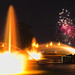 Fireworks Behind Buckingham Fountain