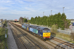 57007 57012 (Geoff Griffiths Doncaster) Tags: trent burton 57007 57012