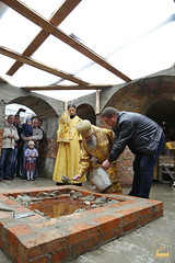125. The Laying of the Foundation Stone of the Church of Saints Cyril and Methodius / Закладка храма святых Мефодия и Кирилла 09.10.2016