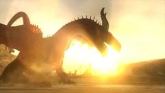 The Dragon (KariganSkye) Tags: dragons dogma dark arisen dragon screenshot sun shadows