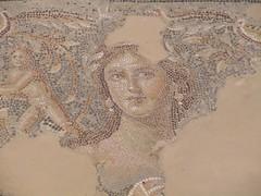 Israel, Sepphoris, Dionysus mosaic floor (sebd_ch) Tags: sepphoris mona lisa